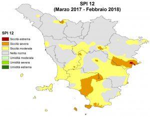 Situazione Siccità Febbraio 2018