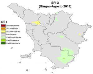 Situazione Siccità Agosto 2018