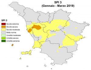 Situazione siccità Marzo 2019